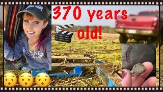 Metal detecting: MX7 finds 370 year old artifact and old US silver!