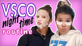 VSCO nighttime routine! Who is the best VSCO girl!