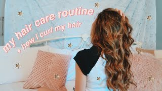 how i take care of + style my hair!!
