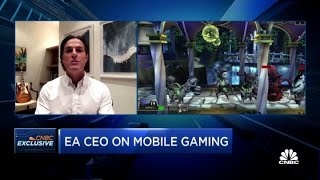 Electronic Arts CEO on the gaming giant's $2.1 billion deal for Glu Mobile