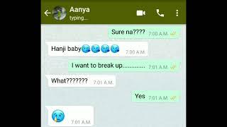 Sad True love story/breakup story