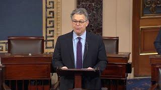 'All women deserve to be heard': Al Franken resigns from Senate