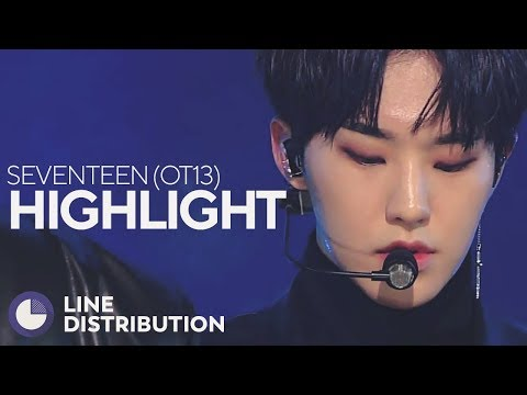 SEVENTEEN - HIGHLIGHT (OT13 Ver.) (Line Distribution)