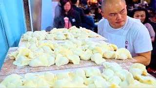 Fastest Dumplings (WORLD RECORD!) STREET FOOD in Taipei's BEST Night Market | Taiwan Street Food