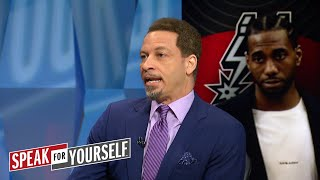 Chris Broussard talks Spurs drama and 2018 NBA Draft | SPEAK FOR YOURSELF