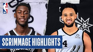 NETS at SPURS | SCRIMMAGE HIGHLIGHTS | July 25, 2020
