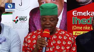 Imo Gov-Elect, Ihedioha Warns Against Last-minute Illegal Transactions