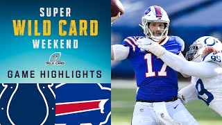 Colts vs. Bills Super Wild Card Weekend Highlights | NFL 2020 Playoffs