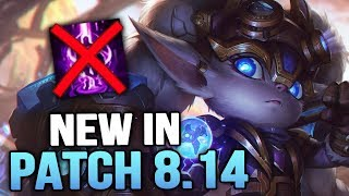 All New Changes in Patch 8.14 - More ADC Buffs! (League of Legends)