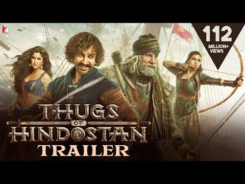 Thugs Of Hindostan - Official Trailer - Amitabh Bachchan - Aamir Khan - Katrina Kaif - Fatima
