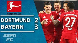 Der Klassiker THRILLER! Lewandowski & Bayern Munich down Dortmund | ESPN FC Bundesliga Highlights