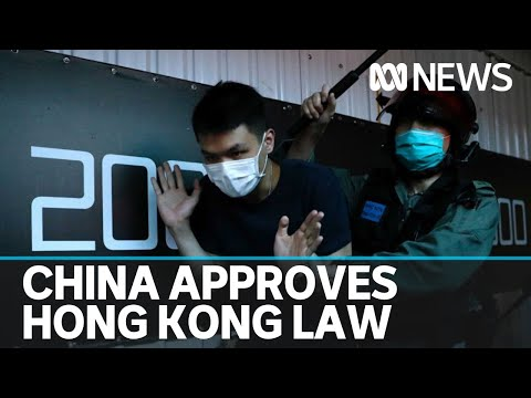 China's parliament votes 2,878 to 1 to impose laws on Hong Kong | ABC News