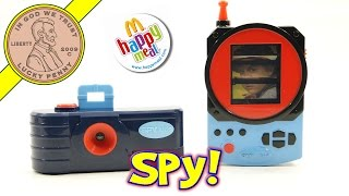 Spy Kids, Spy Gear McDonald's 2001 Happy Meal Fast Food Kids Complete 9 Toy Set