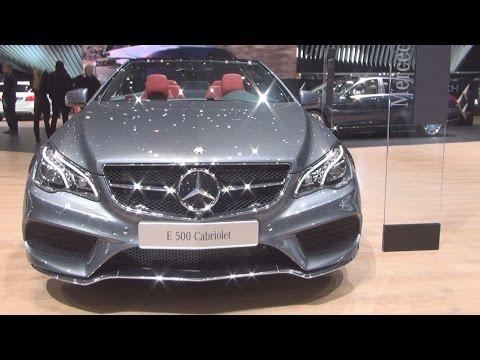 Mercedes-Benz E 500 Cabriolet V8 Edition (2016) Exterior and Interior in 3D