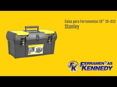 """Caixa Plástica para Ferramentas 19"""" 19-013 Série 2000 Stanley - Vídeo explicativo"""