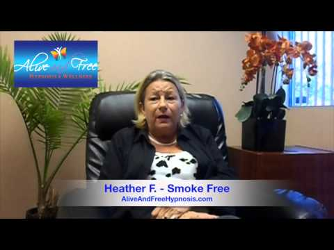 A&F Hypnosis Testimonial: Heather F. - Smoke Free