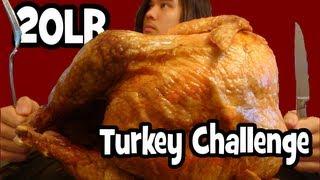Matt Stonie vs 20lb Turkey