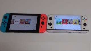 Homemade Nintendo Switch Mini MK2