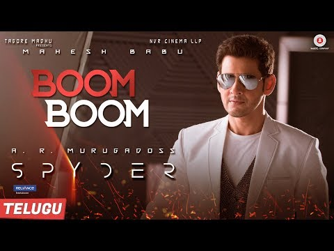 Spyder-Movie-Boom-Boom-Song