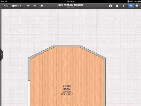 Interior Design for iPad - Bay Window Tutorial
