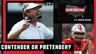 Contenders and Pretenders of the college football season after Week 3   SportsNation