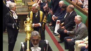 Watch Dennis Skinner's traditional Queen's speech joke