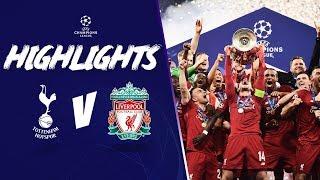 LIVERPOOL CROWNED EUROPEAN CHAMPIONS! | Tottenham 0-2 LFC | Champions League Highlights