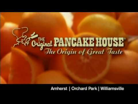 "The Original Pancake House - ""The Origin of Great Taste"" - Oranges :10 Spot"