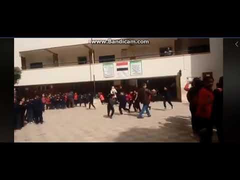 خطة اخلاء مدرسة قاسم امين الابتدائية - إدارة عابدين التعليمية
