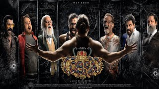 Cobra official first look- Vikram seven avatars- Teaser..