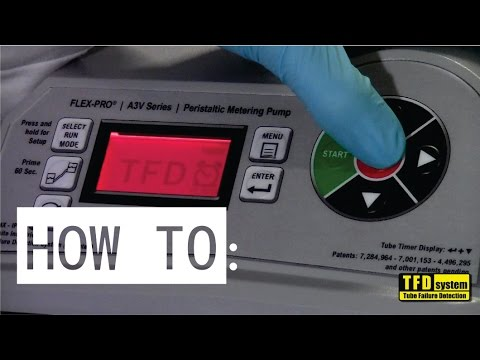 Flex-Pro® A3 Patented Tube Failure Detection - Testing and Setup