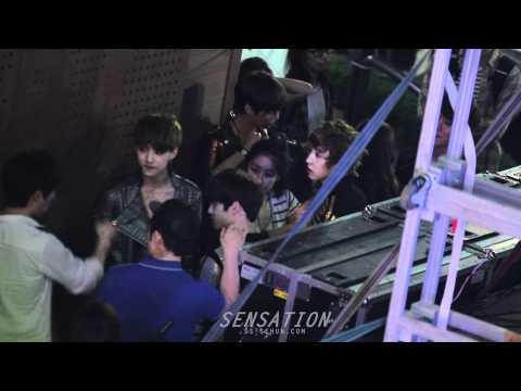 120602 지니영상쇼 - backstage에서 세훈이♥ (SENSATION)