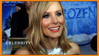 Kristen Bell likes to smoke weed - Hollywood TV