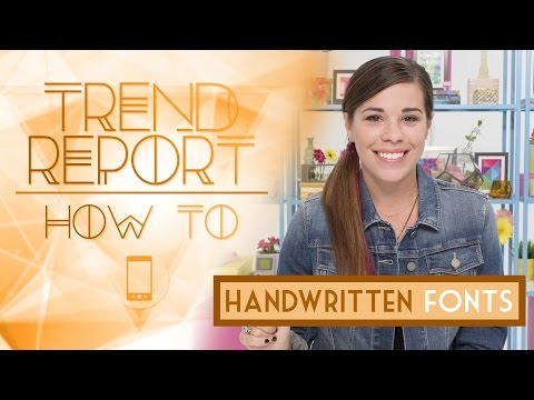 Baixar Trend Report: How To Create Handwritten Fonts Ft. Julie Ann