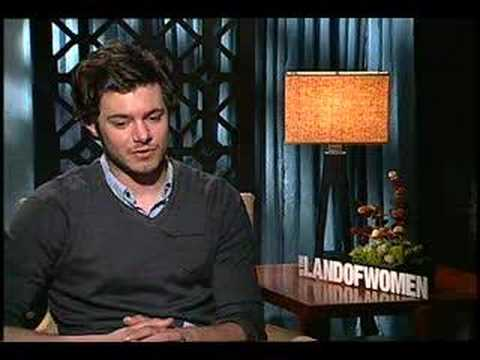 Adam Brody interview for In the Land of Women - YouTube