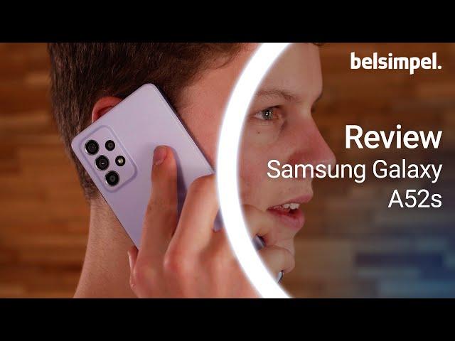Belsimpel-productvideo voor de Samsung Galaxy A52s 5G