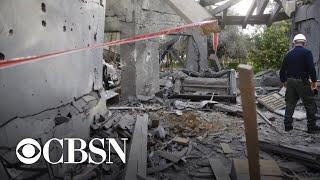 Israel strikes back against Hamas after surprise rocket attack
