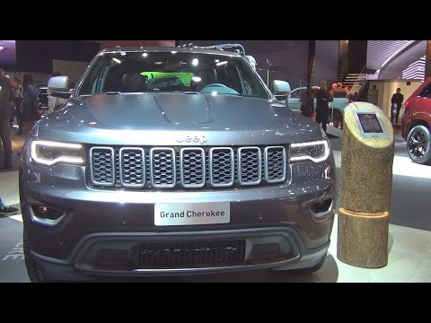 Jeep Grand Cherokee Trailhawk 3.0 L V6 CRD 250 hp MultiJet S&S (2017) Exterior and Interior in 3D