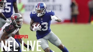 Can coach Pat Shurmur control Odell Beckham Jr. and the Giants? | NFL Live | ESPN