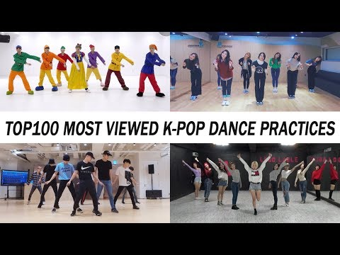 [TOP 100] MOST VIEWED K-POP DANCE PRACTICES •  March 2018