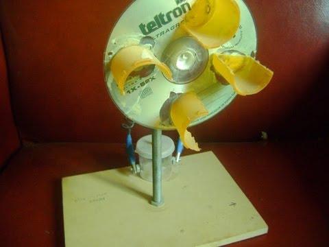 Como Hacer Molino E 211 Lico Casero Home Wind Generator Motor