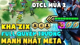 """BAY 3000 LẦN NHƯ HACK VỚI META """" KHA'ZIX 2 QUYỀN TRƯỢNG """" MẠNH NHẤT ĐẤU TRƯỜNG CHÂN LÝ MÙA 2"""