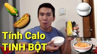 Calories Trong Các Loại Tinh Bột Bạn Hay Ăn Hàng Ngày - Cơm Phở Bún Bắp Nui - Bắp Rang Bơ