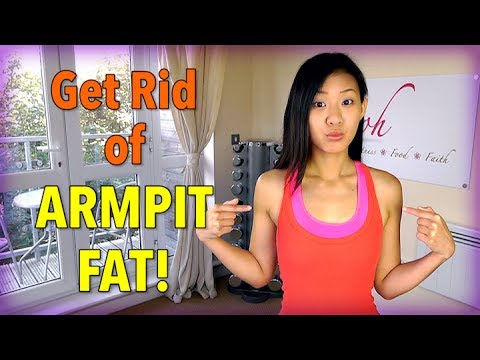 Effective Exercises to Get Rid of Armpit Fat! - Joanna Soh  - zJf5_HDZlMA -