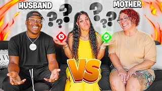 WHO KNOWS ME BETTER!? My HUSBAND Or My MOM! *Challenge* | The Prince Family