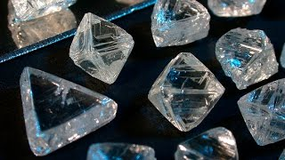 What Diamonds Look Like before they are Cut