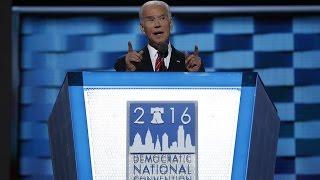 Watch VP Joe Biden's full speech at the 2016 Democratic National Convention
