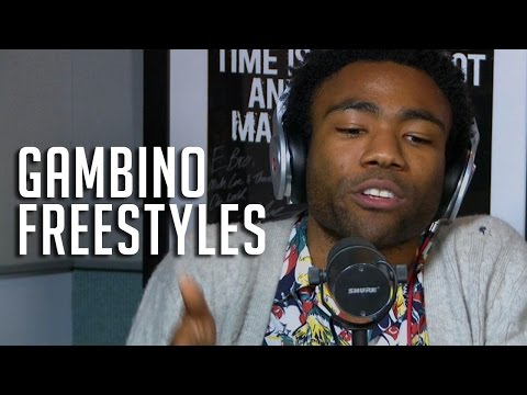 Childish Gambino's Epic Freestyle on HOT97 for Rosenberg