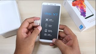 Vivo V7 Unboxing, Hands on, Camera, Features, India Price | Better Than Oppo F5 ?