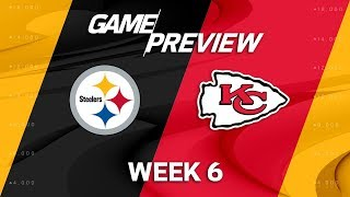 Pittsburgh Steelers vs. Kansas City Chiefs   Week 6 Game Preview   Move the Sticks